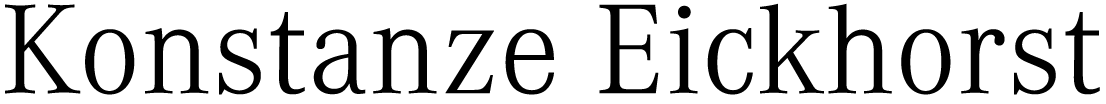 www.konstanze-eickhorst.de Retina Logo